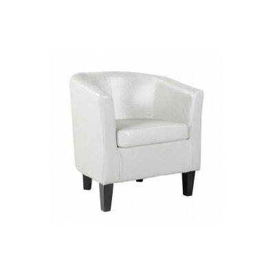 Cummingham Barrel Chair Color: White