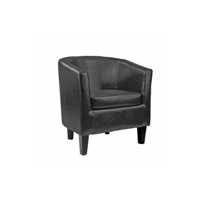 Cummingham Barrel Chair Color: Black