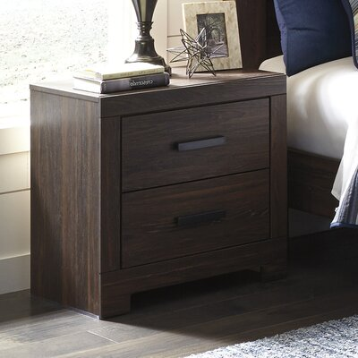Fritsche 2 Drawer Nightstand