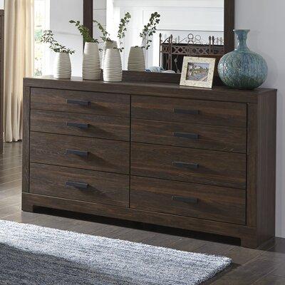 Fritsche 6 Drawer Double Dresser