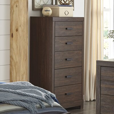 Caffey 5 Drawer Chest