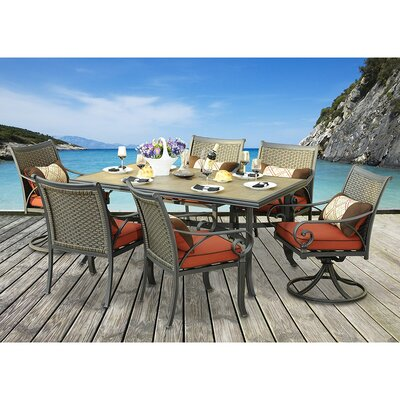 Dauphin 7 Piece Dining Set