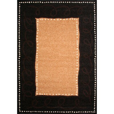 Dearmond Dark Brown/Tan Indoor/Outdoor Area Rug