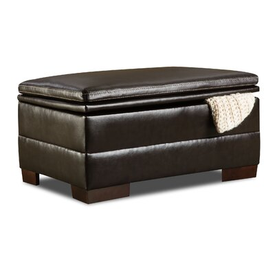 Simmons Upholstery Grandwood Storage Ottoman