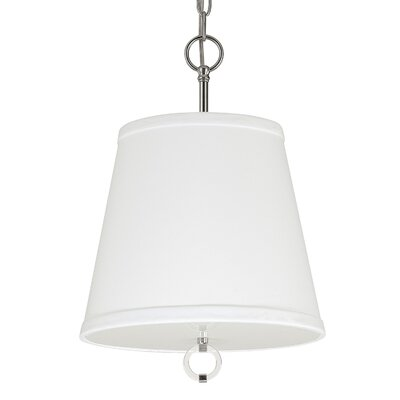 Kincaid 3-Light Pendant Shade Color: Polished Nickel