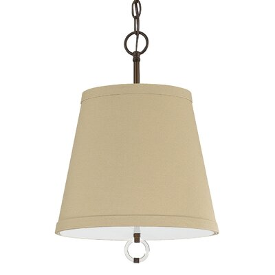 Kincaid 3-Light Pendant Shade Color: Burnished Bronze