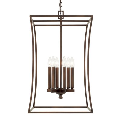 Dangerfield 6-Light Foyer Pendant Finish: Burnished Bronze