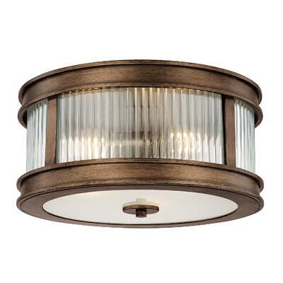Friedlander 3-Light Flush Mount