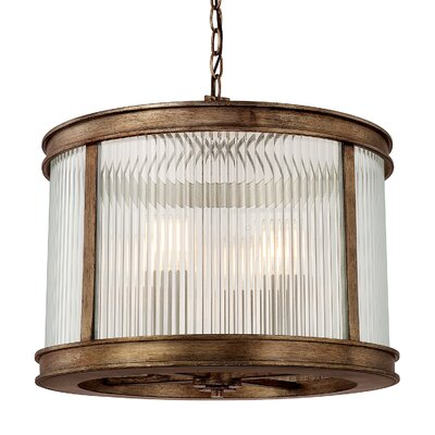 Friedlander 4-Light Drum Pendant