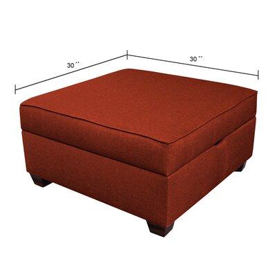 Attica Ottoman Upholstery Color: Brick