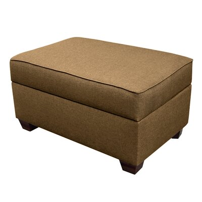 Attica Multi-Functional Slim Line Storage Ottoman Upholstery: Mocha