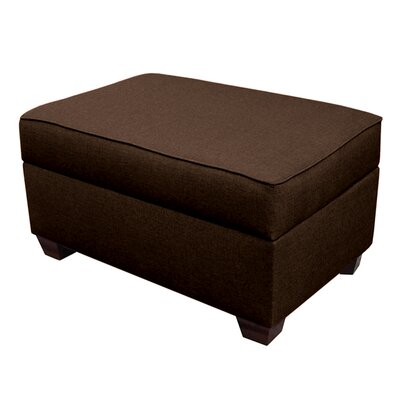 Attica Multi-Functional Slim Line Storage Ottoman Upholstery: Espresso