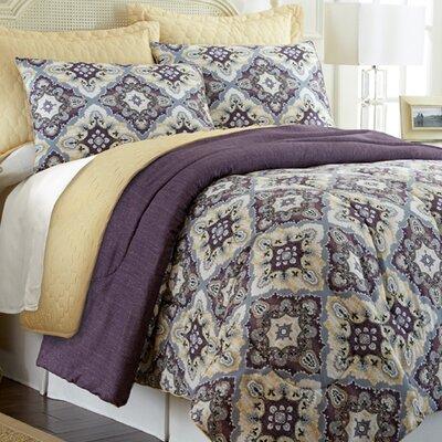 Patton Reversible Comforter Set Size: Queen