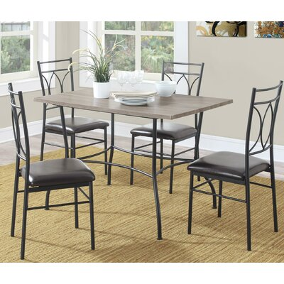 Kelwynne 5 Piece Dining Set