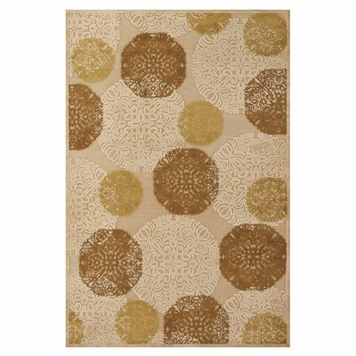 Jupiter Ivory Area Rug Rug Size: Rectangle 76 x 106