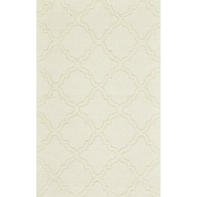 Kentland Ivory Area Rug Rug Size: Rectangle 36 x 56