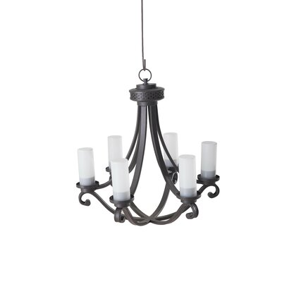 Dewald 6-Light Candle-Style Chandelier