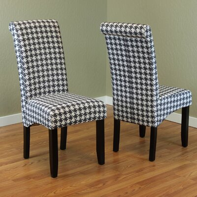 Dimmick Parsons Chair Upholstery: Black