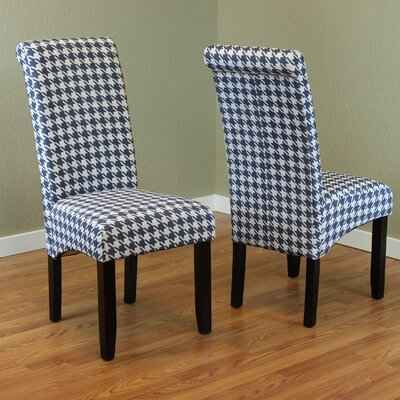 Dimmick Parsons Chair Upholstery: Blue