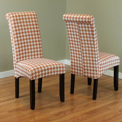 Dimmick Parsons Chair Upholstery: Tangerine