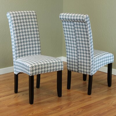 Dimmick Parsons Chair Upholstery: Arctic Blue