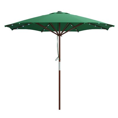 Deforge 9 Illuminated Umbrella Fabric: Green