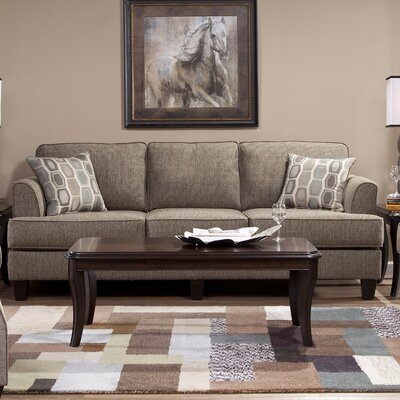 Serta Upholstery Dallas Sofa Upholstery: Bang Bang Beach Glass / Trex Beach Glass