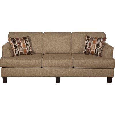 Serta Upholstery Dallas Sofa Upholstery: Hanover Barley / Sunflower Dijon
