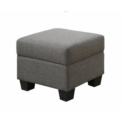 Matthew Ottoman Upholstery: Grey