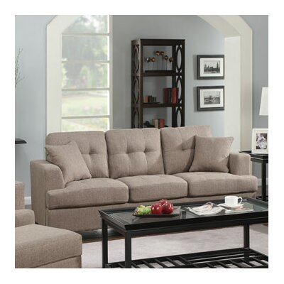 Matthew 3 Piece Sofa & Pillow Set Upholstery: Gray