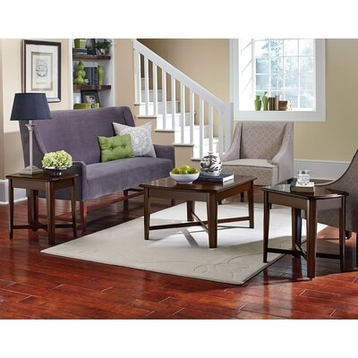Delavan 3 Piece Coffee Table Set