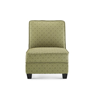 Leonhardt Slipper Chair Upholstery: Jungle