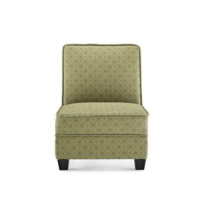 Leonhardt Slipper Chair Upholstery: Jungle
