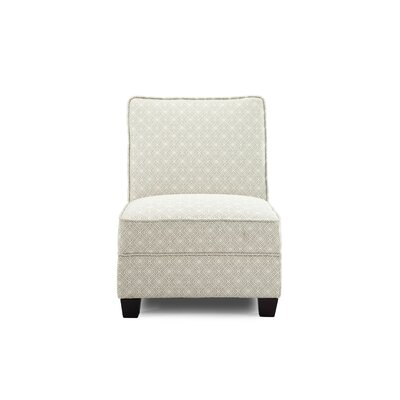 Leonhardt Slipper Chair Upholstery: Platinum