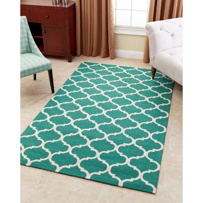 Lindenwood Hand-Tufted Green Area Rug Rug Size: 8 x 10