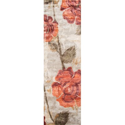 Summitville Hand-Tufted Red Area Rug Rug Size: Runner 23 x 8
