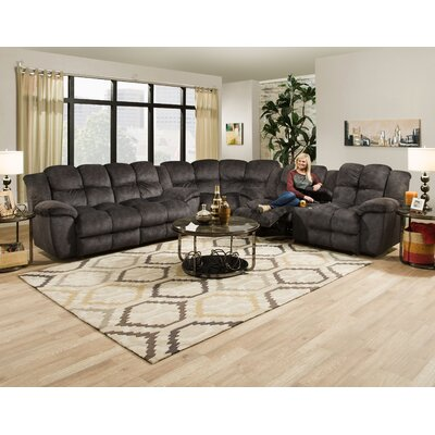 Caton Snuggler Manual Rocker Recliner Upholstery Color: Charcoal
