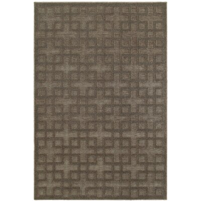 McCordsville Brown/Gray Area Rug Rug Size: Rectangle 66 x 96