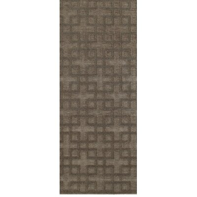 McCordsville Brown/Gray Area Rug Rug Size: Runner 22 x 76