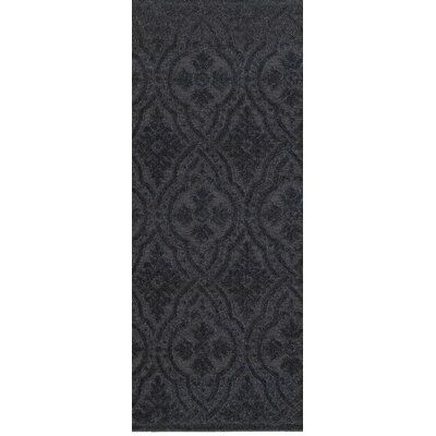Michigan Black Area Rug Rug Size: Runner 22 x 76