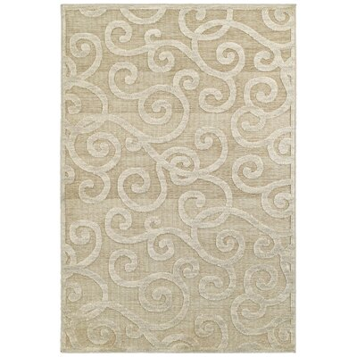 McCarthy Beige Area Rug Rug Size: Rectangle 52 x 76