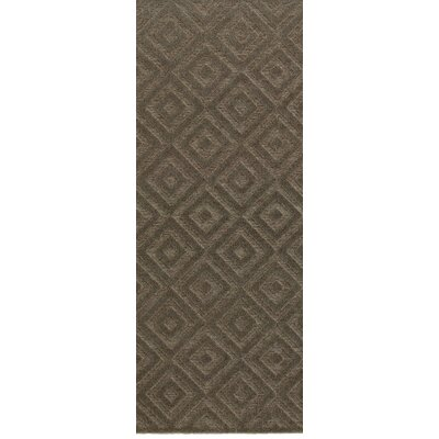Maryport Brown/Gray Area Rug Rug Size: Runner 2'2