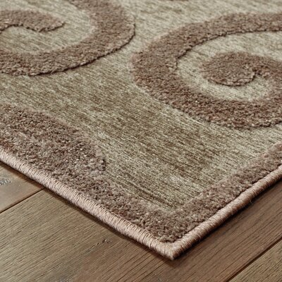McCarthy Brown/Gray Area Rug Rug Size: Rectangle 910 x 129