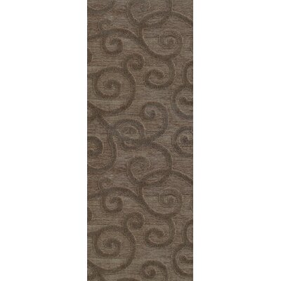 McCarthy Brown/Gray Area Rug Rug Size: Runner 22 x 76