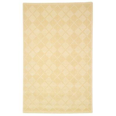 Milltown Diamonds Ivory Rug Rug Size: Rectangle 83 x 11