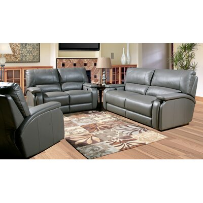 Red Barrel Studio RDBS7245 Shelburn Leather Living Room Collection
