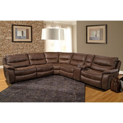 Timber Reclining Sectional