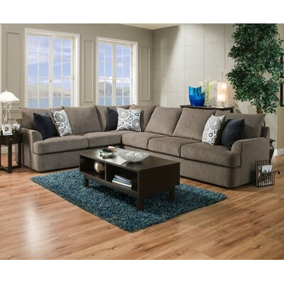 Red Barrel Studio RDBS7264 Simmons Sectional