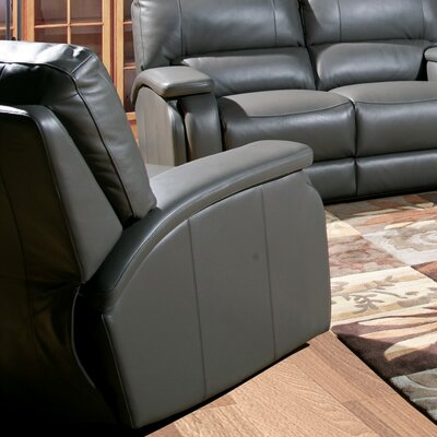 Shelburn Leather Power Recliner