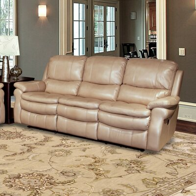 Stapleford Dual Power Reclining Sofa Upholstery: Sand
